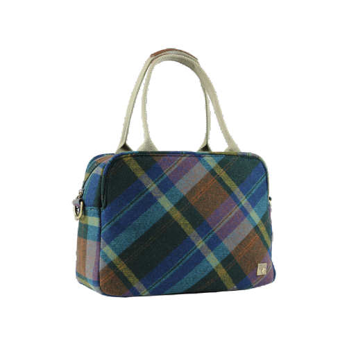 House of Tweed Tote Bag Handbag in Multi Check